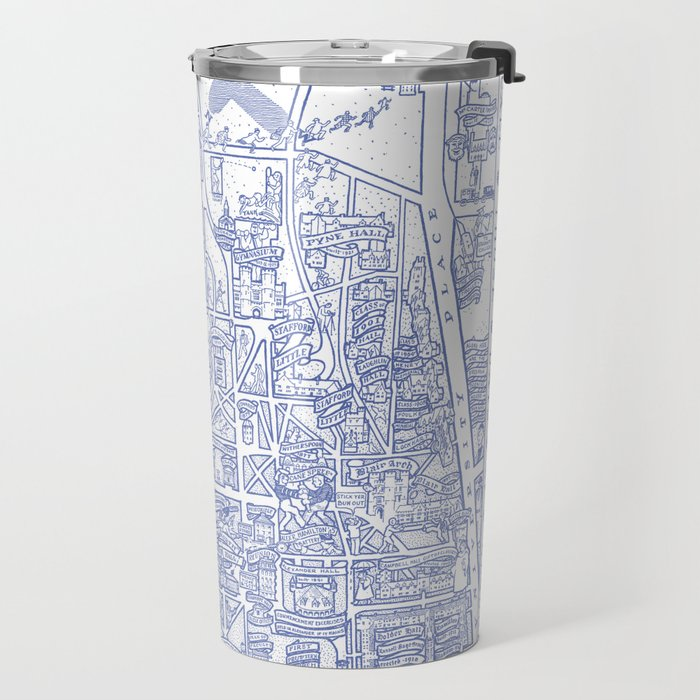 PRINCETON university map NEW JERSEY dorm decor Travel Mug