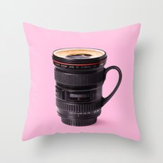 LENSCUP Throw Pillow