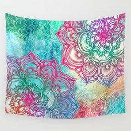 Round & Round the Rainbow Wall Tapestry