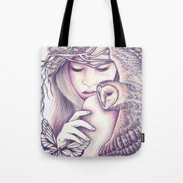 Owl Spirit Tote Bag