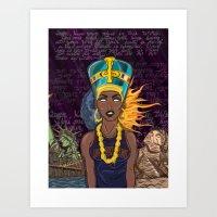 "lebron Art Prints featuring ""Neffortlessly"" by SaintCastro"