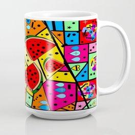 Watermelon Popart by Nico bielow Coffee Mug
