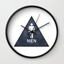 Men Wall Clock