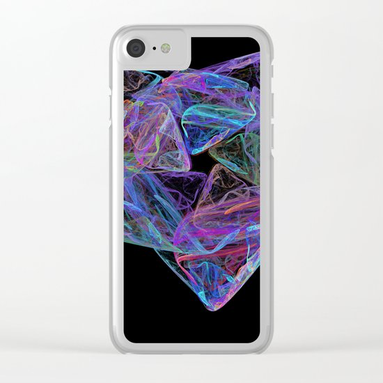 Energetic  (A7 B0192) Clear iPhone Case