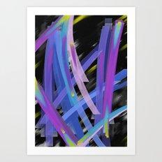 Ribbons Art Print