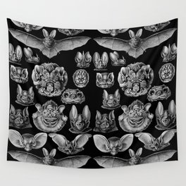 1904 Haeckel Chiroptera Wall Tapestry