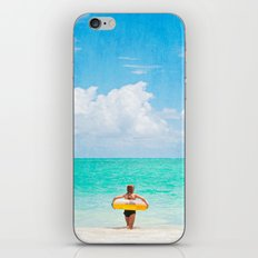 Little Lady and the Sea iPhone & iPod Skin