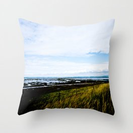 Pilling Landscape  Throw Pillow
