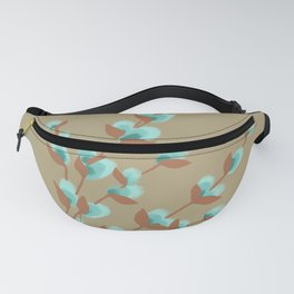 Minty Pussy Willows Fanny Pack