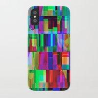 glitch iPhone & iPod Cases featuring GLITCH by C O R N E L L