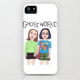 Ghost World Enid and Rebecca iPhone Case