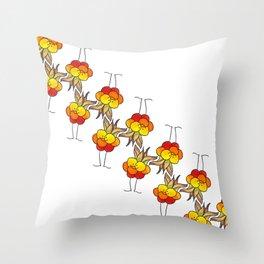 Cloudberry Throw Pillow
