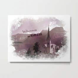 Hallstatt Metal Print