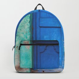 Blue Indian Door Backpack