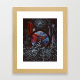I found you in a sea of selflessness Framed Art Print