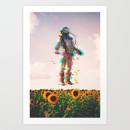 The Plain Traveller Art Print