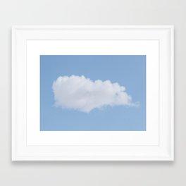 Cloud #1 Framed Art Print