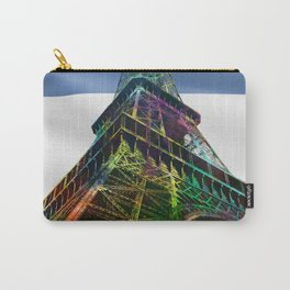 The Eiffel Tower and French Flag,  Carry-All Pouch