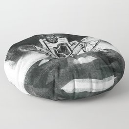 The Catcher: An Enigmatic Two Floor Pillow