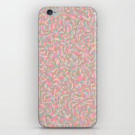 Boomerang Pink iPhone Skin