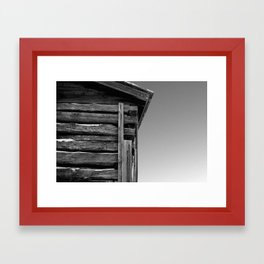 corner pieces Framed Art Print