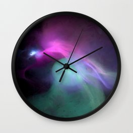 Solar Mists Wall Clock