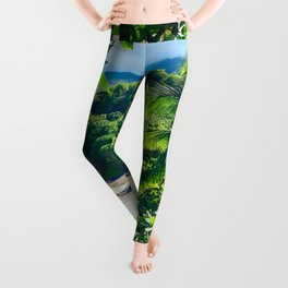 Hamoa Beach Hana Maui Hawaii Leggings