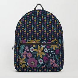 Moody Floral Backpack