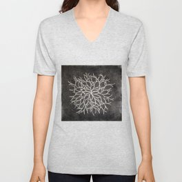The Lost Map of Ts'ui Pen's Labyrinth Unisex V-Neck