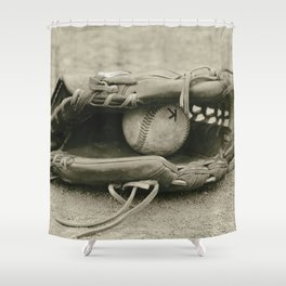 First Love 3 in Sepia Shower Curtain