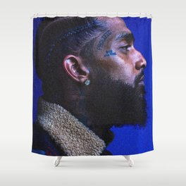 Nipsey Hussle Shower Curtain