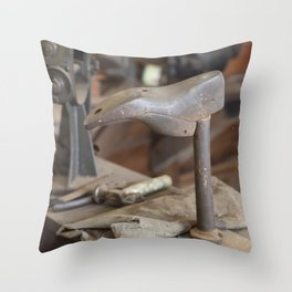 Cobblers Anvil Throw Pillow