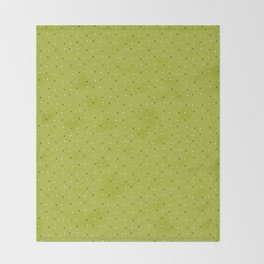 Chemistry Class Doodles - Lime Throw Blanket