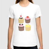 cupcakes T-shirts featuring CUPCAKES by Sarah and Bree
