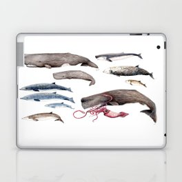 Deep sea whales Laptop & iPad Skin