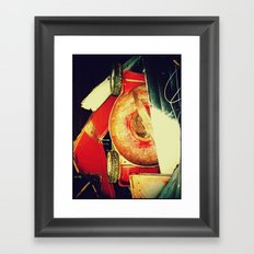 Abstract photo called Mowed Framed Art Print
