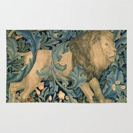 "William Morris ""Forest - Lion"" Rug"