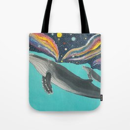 So, that's who created the universe? Tote Bag