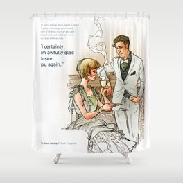 The Great Gatsby_see you again Shower Curtain