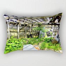 Nature Taking Over 3 Rectangular Pillow