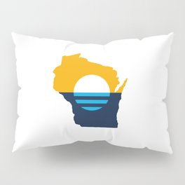 Wisconsin - People's Flag of Milwaukee Pillow Sham