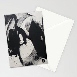Informel black Stationery Cards