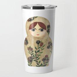 Matryoshka Doll #2 Travel Mug