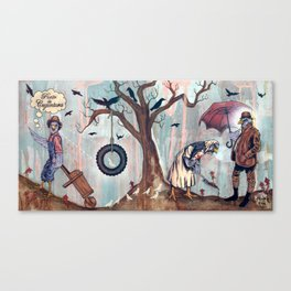 Punto de Coyuntura Canvas Print