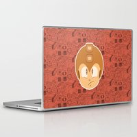 megaman Laptop & iPad Skins featuring Megaman by Kuki