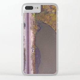Train Through the Wilderness Clear iPhone Case