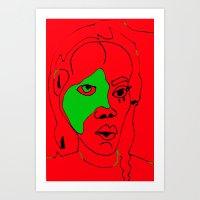 matisse Art Prints featuring matisse by melis basmaci