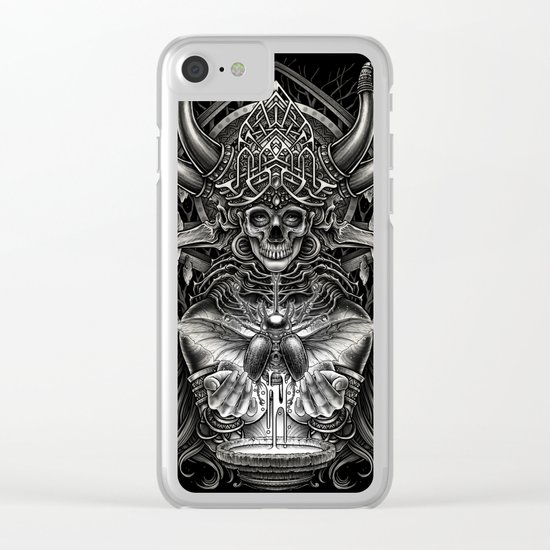 Winya No. 102 Clear iPhone Case