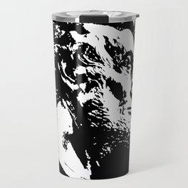 Face Lincoln Travel Mug