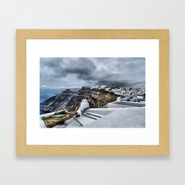 Santorini 16 Framed Art Print